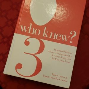 National Book Network Accents - WHO KNEW? book 473 pages.